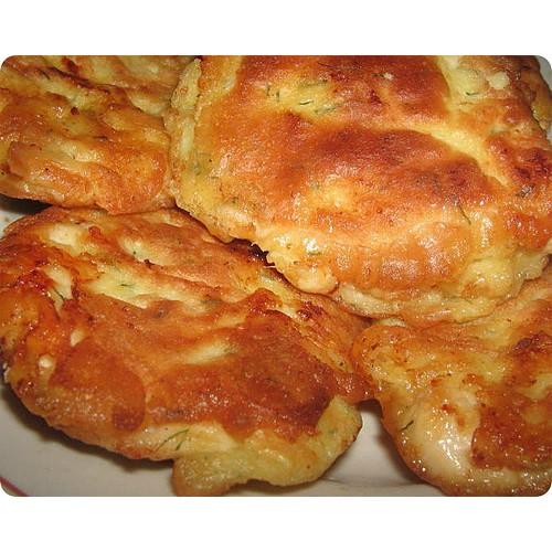 Куриное филе с сырным соусом