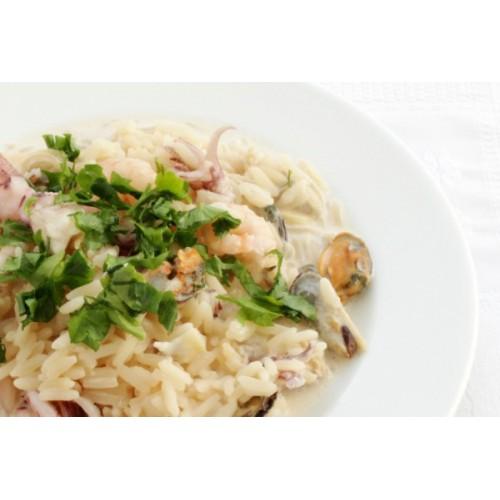 Сливочный соус с морепродуктами