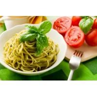 Pasta pesto ja tomatidega