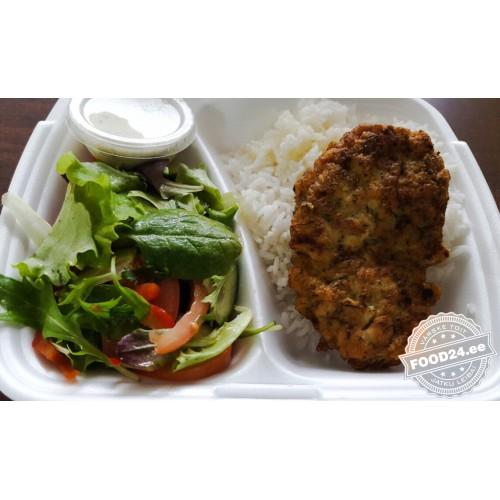Котлета из куриного филе с укропом и молочным соусом (кг)